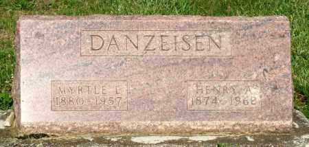 DANZEISEN, MYRTLE L. - Montgomery County, Ohio | MYRTLE L. DANZEISEN - Ohio Gravestone Photos