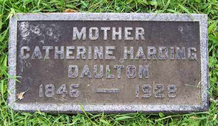 DAULTON, CATHERINE - Montgomery County, Ohio | CATHERINE DAULTON - Ohio Gravestone Photos