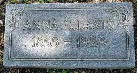DESSECKER DAVIS, ANNA CATHERINE - Montgomery County, Ohio | ANNA CATHERINE DESSECKER DAVIS - Ohio Gravestone Photos
