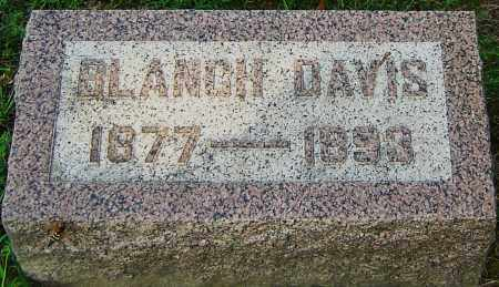 DAVIS, BLANCH - Montgomery County, Ohio | BLANCH DAVIS - Ohio Gravestone Photos