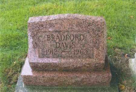 DAVIS, BRADFORD - Montgomery County, Ohio | BRADFORD DAVIS - Ohio Gravestone Photos