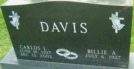 DAVIS, CARLOS L - Montgomery County, Ohio | CARLOS L DAVIS - Ohio Gravestone Photos