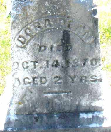 DAVIS, DORA - Montgomery County, Ohio | DORA DAVIS - Ohio Gravestone Photos