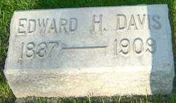 DAVIS, EDWARD H - Montgomery County, Ohio | EDWARD H DAVIS - Ohio Gravestone Photos