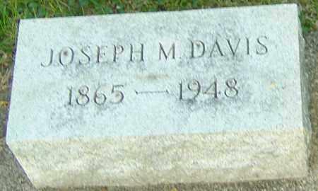 DAVIS, JOSEPH M - Montgomery County, Ohio | JOSEPH M DAVIS - Ohio Gravestone Photos