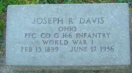 DAVIS, JOSEPH R - Montgomery County, Ohio | JOSEPH R DAVIS - Ohio Gravestone Photos
