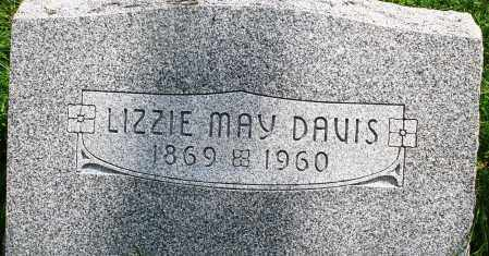 DAVIS, LIZZIE MAY - Montgomery County, Ohio | LIZZIE MAY DAVIS - Ohio Gravestone Photos