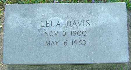DAVIS, LELA - Montgomery County, Ohio | LELA DAVIS - Ohio Gravestone Photos
