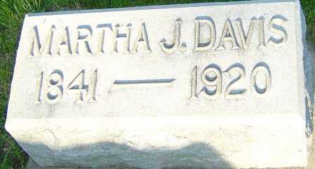 FALLIS DAVIS, MARTHA J - Montgomery County, Ohio | MARTHA J FALLIS DAVIS - Ohio Gravestone Photos