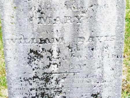 DAVIS, MARY - Montgomery County, Ohio | MARY DAVIS - Ohio Gravestone Photos
