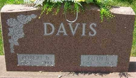 DAVIS, RUTH E - Montgomery County, Ohio | RUTH E DAVIS - Ohio Gravestone Photos