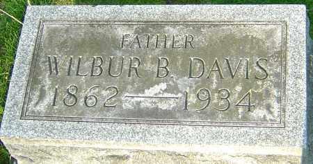 DAVIS, WILBUR B - Montgomery County, Ohio | WILBUR B DAVIS - Ohio Gravestone Photos