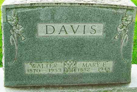 DAVIS, MARY ELLEN - Montgomery County, Ohio | MARY ELLEN DAVIS - Ohio Gravestone Photos