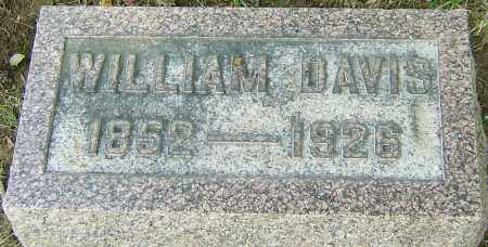 DAVIS, WILLIAM - Montgomery County, Ohio | WILLIAM DAVIS - Ohio Gravestone Photos