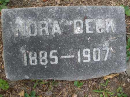DECK, NORA - Montgomery County, Ohio | NORA DECK - Ohio Gravestone Photos