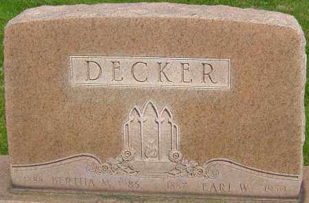 JOHNSON DECKER, BERTHA M - Montgomery County, Ohio | BERTHA M JOHNSON DECKER - Ohio Gravestone Photos