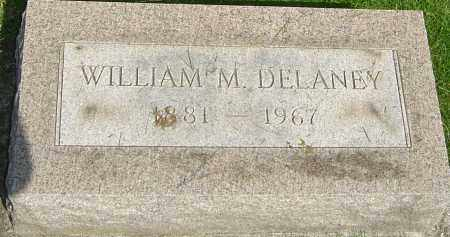 DELANEY, WILLIAM M - Montgomery County, Ohio | WILLIAM M DELANEY - Ohio Gravestone Photos