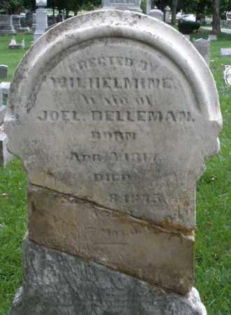 DELLEMAN, JOEL - Montgomery County, Ohio | JOEL DELLEMAN - Ohio Gravestone Photos
