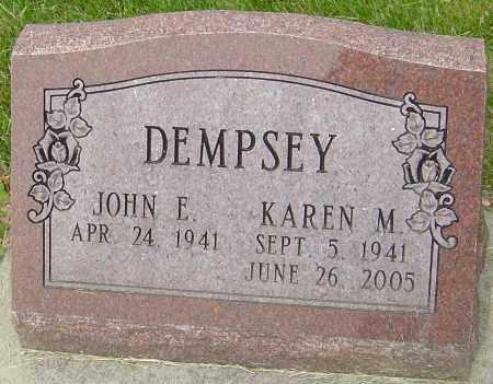 DEMPSEY, KAREN M - Montgomery County, Ohio | KAREN M DEMPSEY - Ohio Gravestone Photos