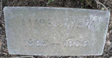 DEW, AMOS J. - Montgomery County, Ohio | AMOS J. DEW - Ohio Gravestone Photos