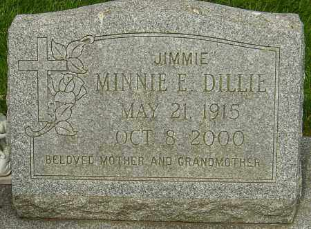 DILLIE, MINNIE E - Montgomery County, Ohio | MINNIE E DILLIE - Ohio Gravestone Photos
