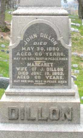 DILLON, MARGARET - Montgomery County, Ohio | MARGARET DILLON - Ohio Gravestone Photos