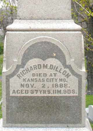 DILLON, RICHARD M. - Montgomery County, Ohio | RICHARD M. DILLON - Ohio Gravestone Photos