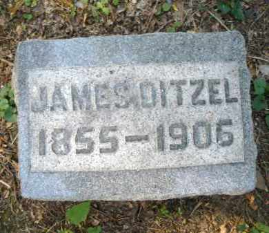 DITZEL, JAMES - Montgomery County, Ohio | JAMES DITZEL - Ohio Gravestone Photos