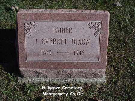 DIXON, I EVERETT - Montgomery County, Ohio | I EVERETT DIXON - Ohio Gravestone Photos