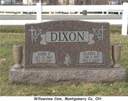 BOWLES DIXON, GLADYS - Montgomery County, Ohio | GLADYS BOWLES DIXON - Ohio Gravestone Photos