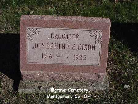 DIXON, JOSEPHINE - Montgomery County, Ohio | JOSEPHINE DIXON - Ohio Gravestone Photos