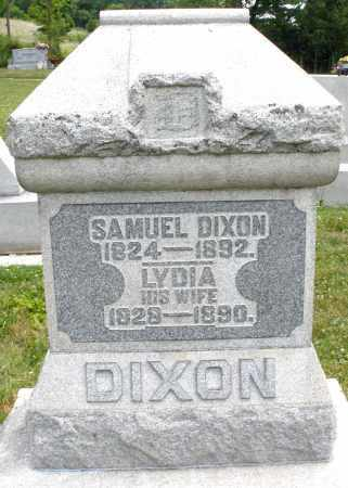 DIXON, LYDIA - Montgomery County, Ohio | LYDIA DIXON - Ohio Gravestone Photos