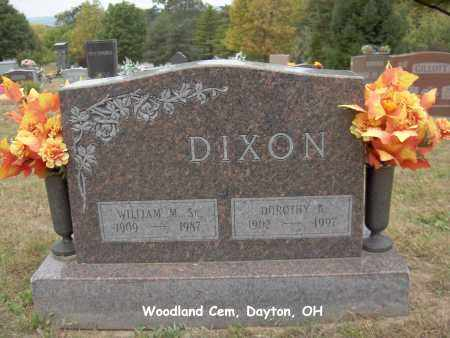 DIXON, WILLIAM - Montgomery County, Ohio | WILLIAM DIXON - Ohio Gravestone Photos