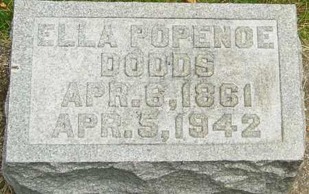 DODDS, ELLA - Montgomery County, Ohio | ELLA DODDS - Ohio Gravestone Photos