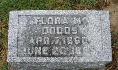DODDS, FLORA M. - Montgomery County, Ohio | FLORA M. DODDS - Ohio Gravestone Photos