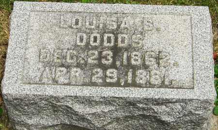 DODDS, LOUISA S - Montgomery County, Ohio | LOUISA S DODDS - Ohio Gravestone Photos