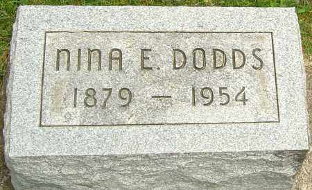 DODDS, NINA E - Montgomery County, Ohio | NINA E DODDS - Ohio Gravestone Photos