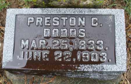 DODDS, PRESTON C. - Montgomery County, Ohio | PRESTON C. DODDS - Ohio Gravestone Photos
