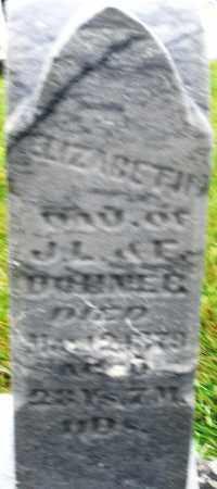 DOHNER, ELIZABETH - Montgomery County, Ohio | ELIZABETH DOHNER - Ohio Gravestone Photos
