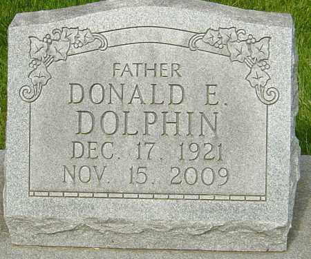 DOLPHIN, DONALD E - Montgomery County, Ohio | DONALD E DOLPHIN - Ohio Gravestone Photos