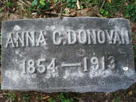 DONAVAN, ANNA C. - Montgomery County, Ohio | ANNA C. DONAVAN - Ohio Gravestone Photos