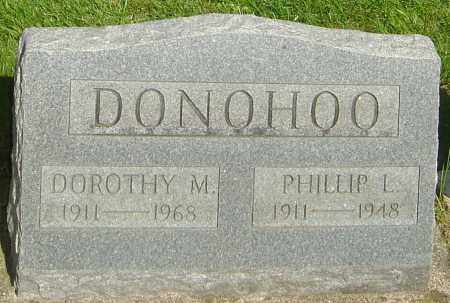 DONOHOO, PHILLIP L - Montgomery County, Ohio | PHILLIP L DONOHOO - Ohio Gravestone Photos