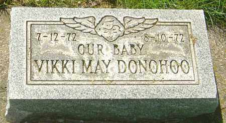 DONOHOO, VIKKI MAY - Montgomery County, Ohio | VIKKI MAY DONOHOO - Ohio Gravestone Photos
