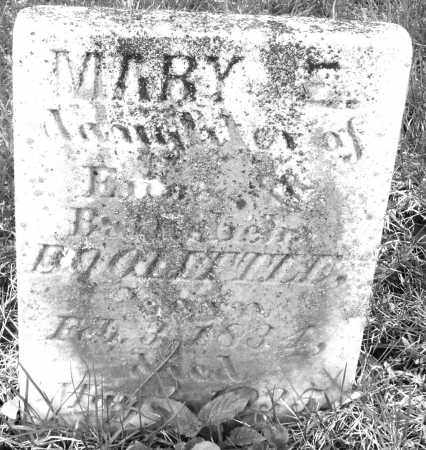 DOOLITTLE, MARY E. - Montgomery County, Ohio | MARY E. DOOLITTLE - Ohio Gravestone Photos