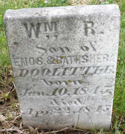 DOOLITTLE, WILLIAM R. - Montgomery County, Ohio | WILLIAM R. DOOLITTLE - Ohio Gravestone Photos