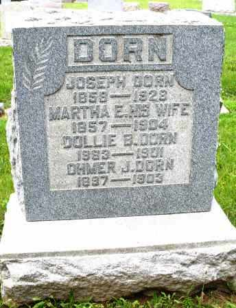 DORN, MARTHA E. - Montgomery County, Ohio | MARTHA E. DORN - Ohio Gravestone Photos