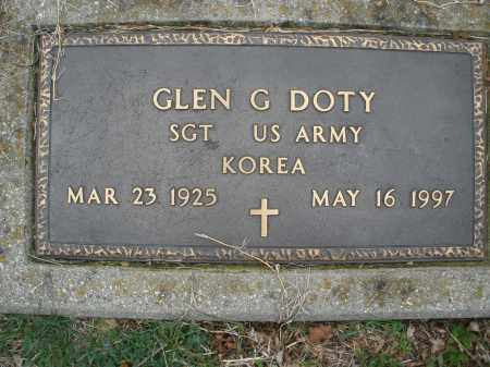 DOTY, GLEN G. - Montgomery County, Ohio | GLEN G. DOTY - Ohio Gravestone Photos