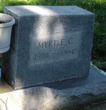 DOTY, MYRTLE C. - Montgomery County, Ohio | MYRTLE C. DOTY - Ohio Gravestone Photos