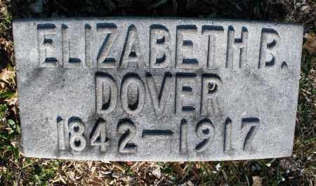 DOVER, ELIZABETH B. - Montgomery County, Ohio | ELIZABETH B. DOVER - Ohio Gravestone Photos