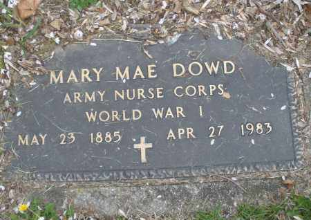 DOWD, MARY MAE - Montgomery County, Ohio | MARY MAE DOWD - Ohio Gravestone Photos